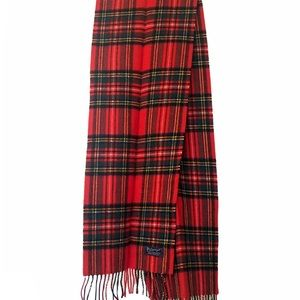 Authentic Burberry Holiday Plaid 100% Lambwool